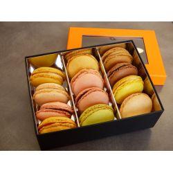 boîte de 12 macarons